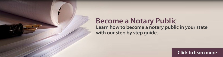 Become a Notary Public - Learn how to become a notary public in your state with our step by step guide.